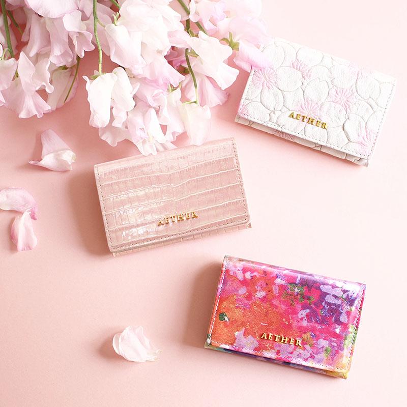 金運風水にピンクの財布