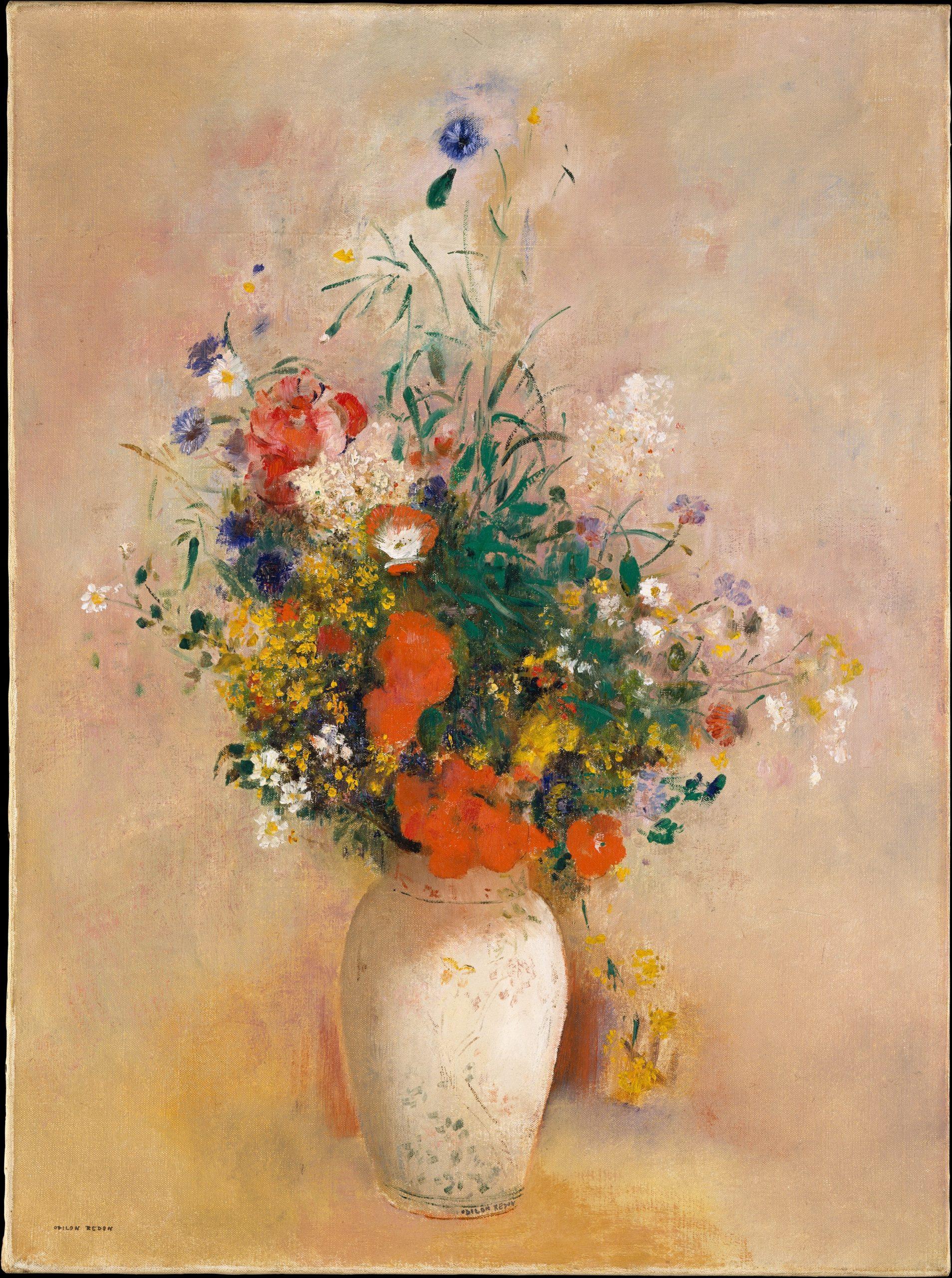 エーテル美術館_ルドンの花瓶